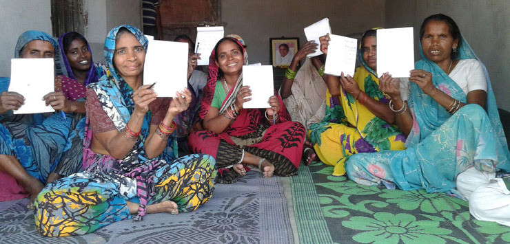 Women learn how to write for the first time. AMMACHI Labs has produced a diverse collection of research articles. A unique aspect of our work that we share with the research community pertains to the extensive application of our work in villages in India. This is now giving rise to yet more findings in social science, technology enhanced life long learning and empowerment.