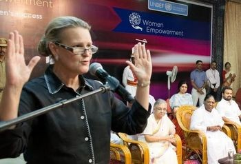 Lise Grande, Head of UN India