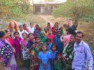 #MegJones UN Women toured Guptapada Village in Odisha after the #RAHA2016 Conference.