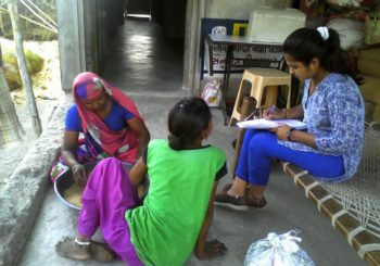 Community Organizer Hina from Nani Borvai village, Gujarat is on a noble quest