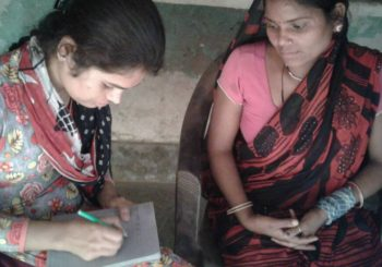 Rachna from Lucknow, who with no education or experience, is trying to lift her life and her village.