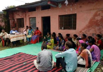 AMMACHI Labs' Deployment team facilitated a meeting with the Pradhan ji and villagers  in Dunda village, Uttarakhand.