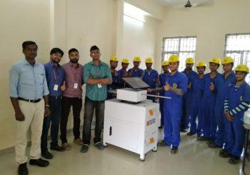 AMMACHI Labs at L&T Construction Skills Training Institute, Jadcherla Mandal, Hyderabad