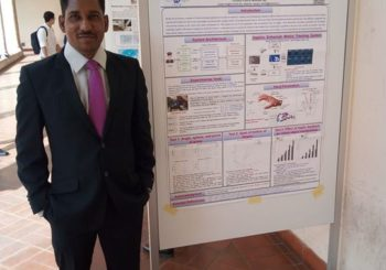 Jose James, senior researcher from AMMACHI Labs' haptics team