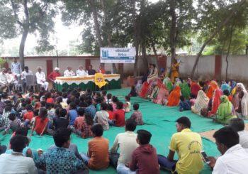 #SHS2018 program in Nani Borvai Village  #Gujarat