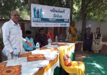 #SHS2018 program in Nani Borvai Village, #Gujarat.