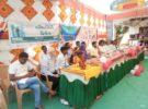 A milk collection society in Gujarat village