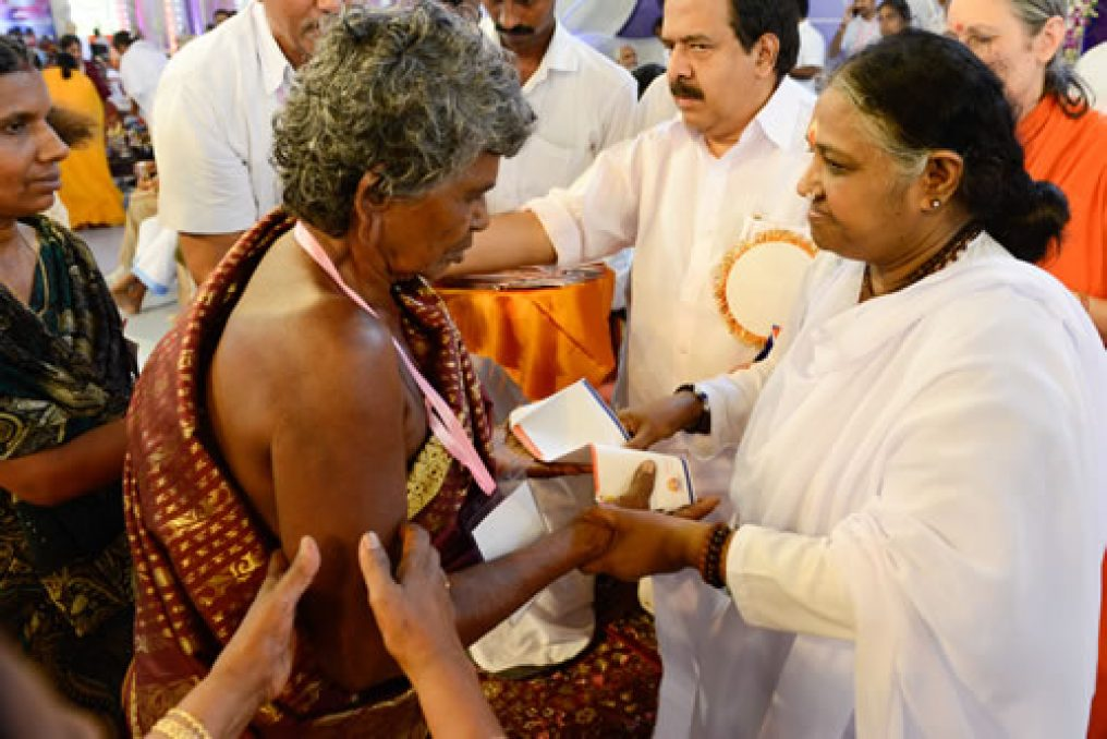 Amma givng pensions