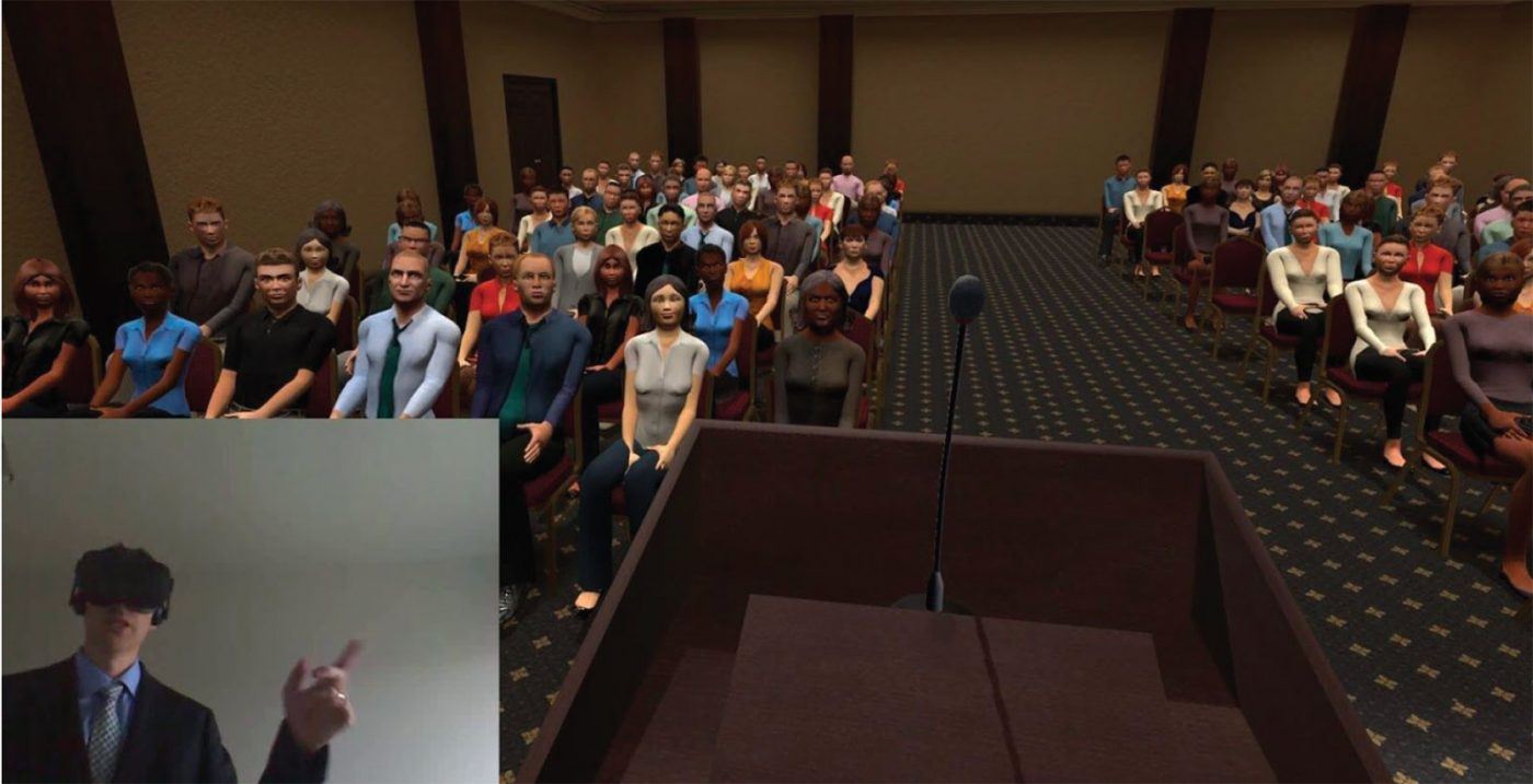 VR UI for Communication Skills