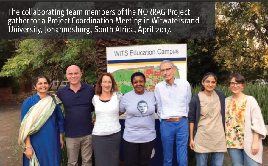 Members of the project at Witwatersand University