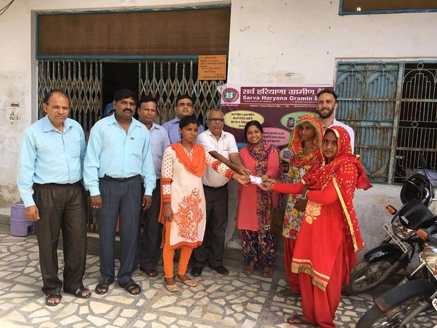 Champions of Change in Kanti village, Haryana demand the bank recognize their SHG and are successful