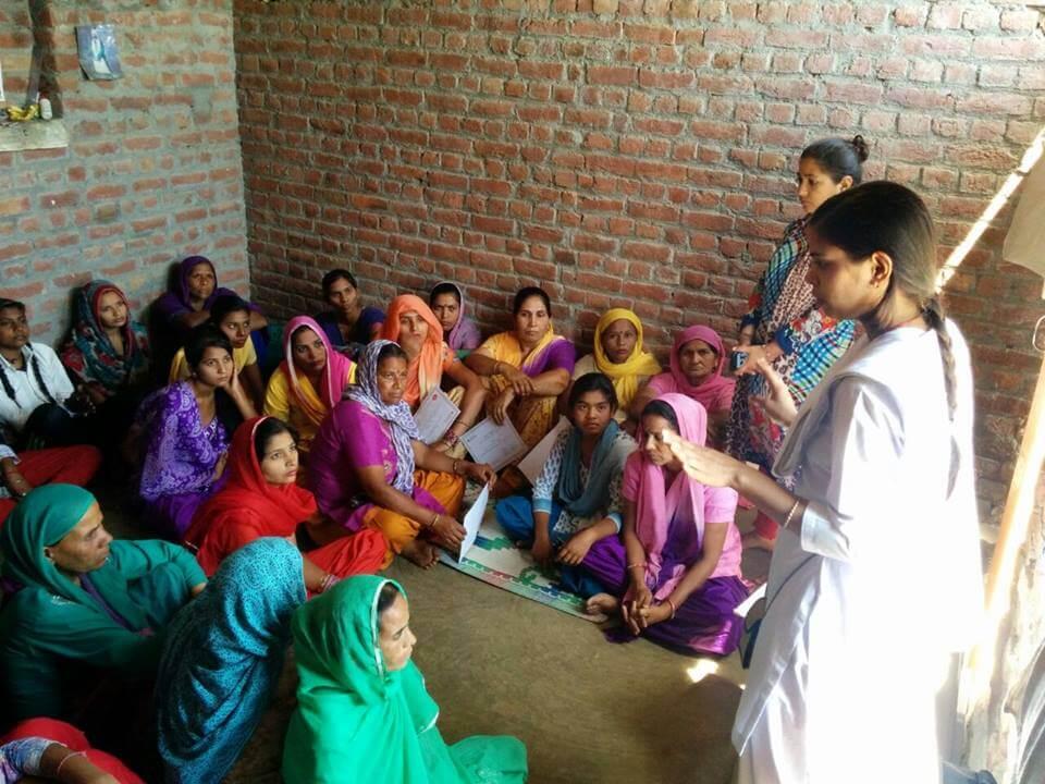 Women in Legal Awareness class
