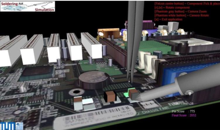 soldering UI