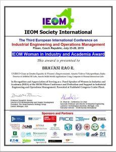 IEOM Award