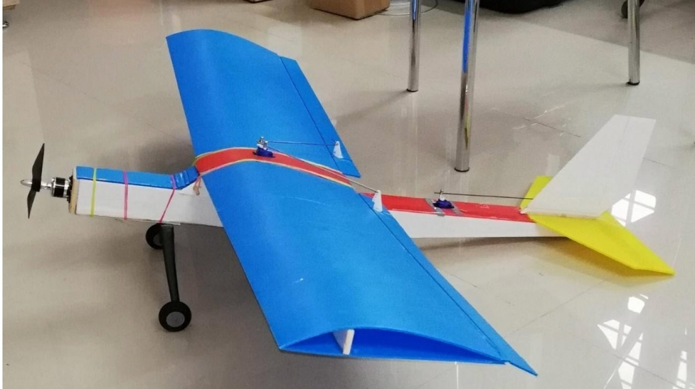Fixed wing radio controlled plane - model 3