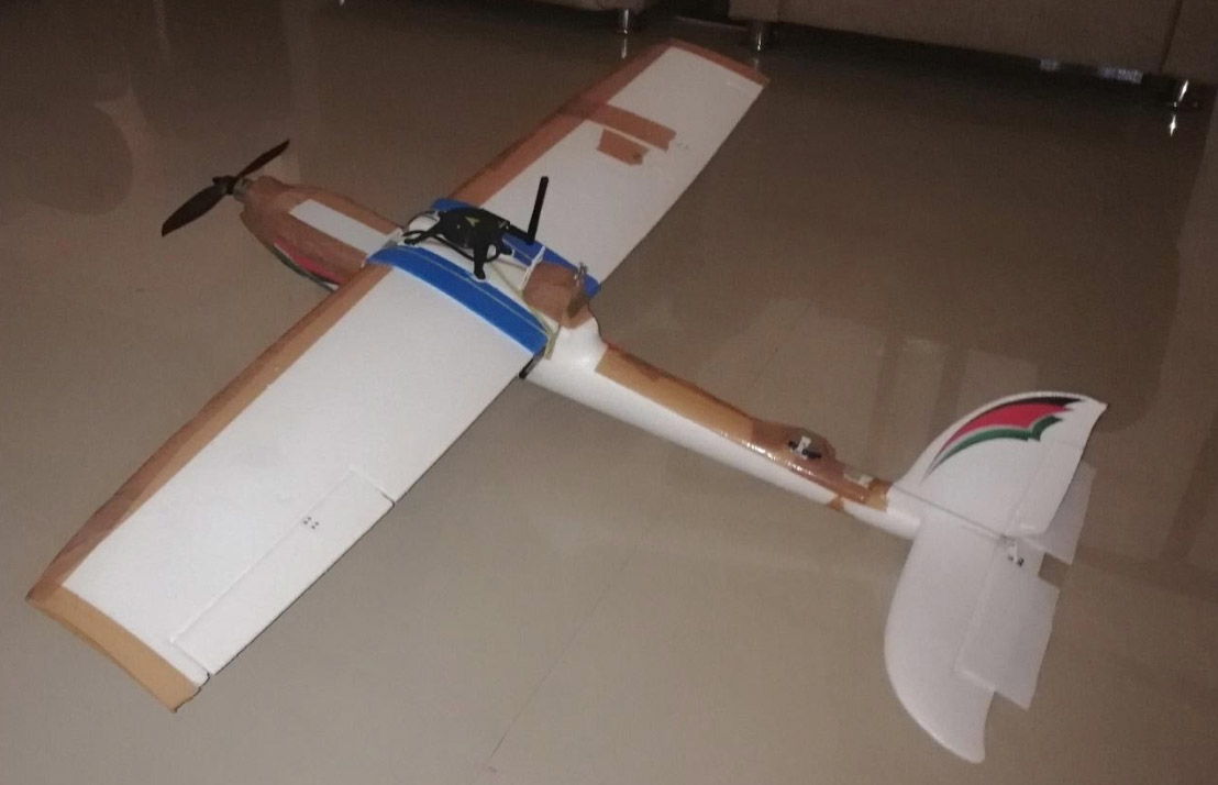 fixed wing drone model 2