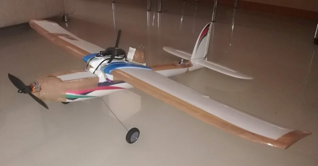 Fixed wing drone model 3