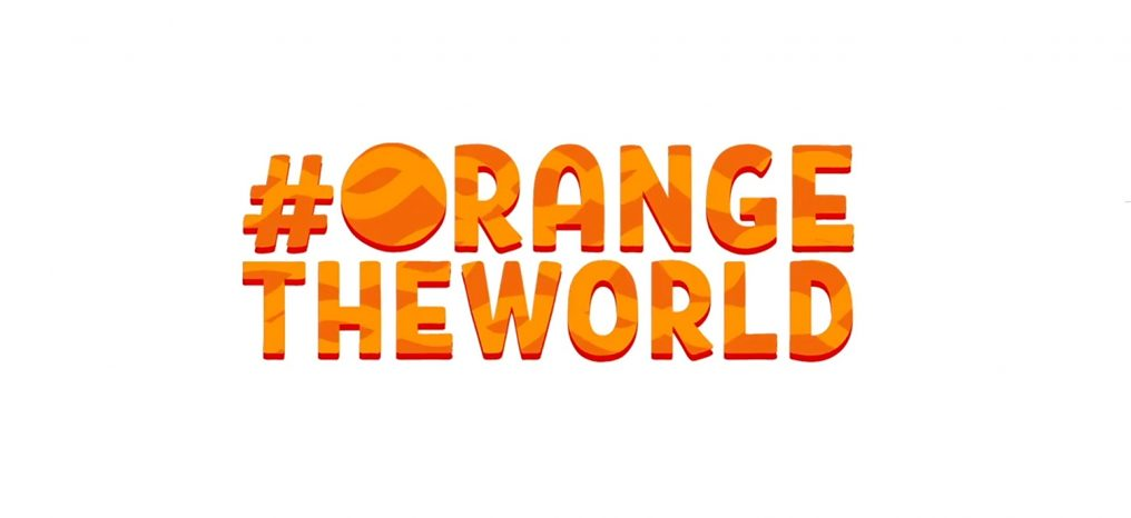 Orange the world logo image