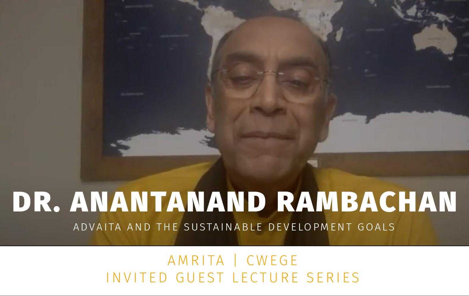 Dr. Anantanand Rambachan